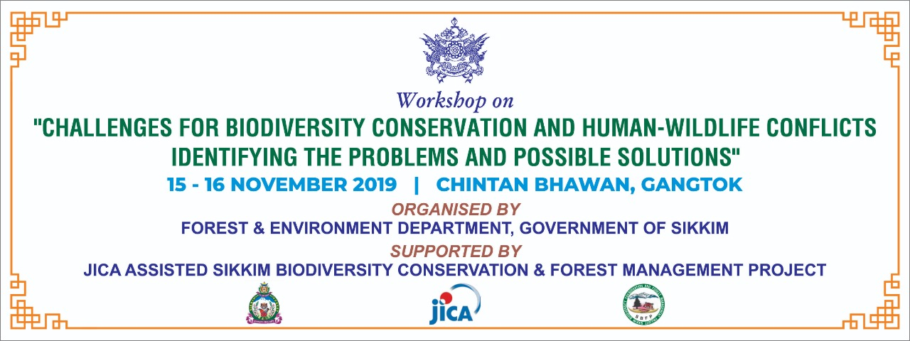 "Workshop On ""Challenges For Biodiversity Conservation And Human-Wildlife Conflict - Identifying The"